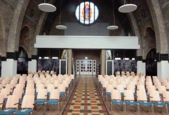 Halfweg binnenzijde (zicht vanaf priesterkoor