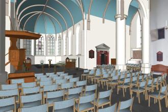 Voorburg oude kerk 2 uitgelicht